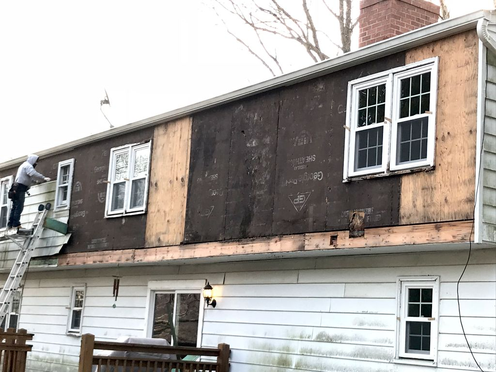 Window and Siding replacement