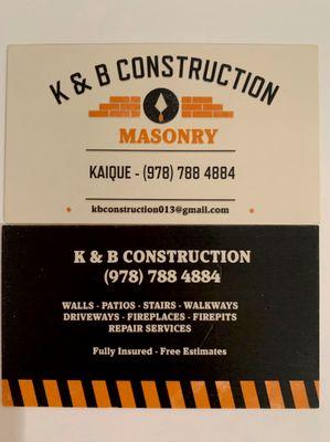 Avatar for K&B CONSTRUCTION CORP Dracut, MA Thumbtack