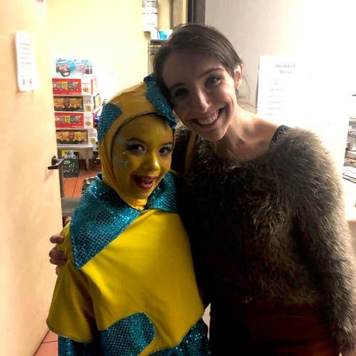 My wonderful student performed Flounder in Little Mermaid Jr!