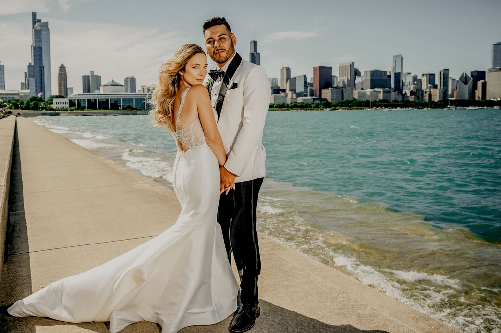 Gorgeous wedding in downtown Chicago