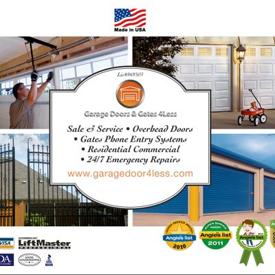 Avatar for Garage Doors & Gates 4 Less Van Nuys, CA Thumbtack