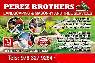 Avatar for PEREZ BROTHERS LANDSCAPING & MASONRY tree service Lynn, MA Thumbtack
