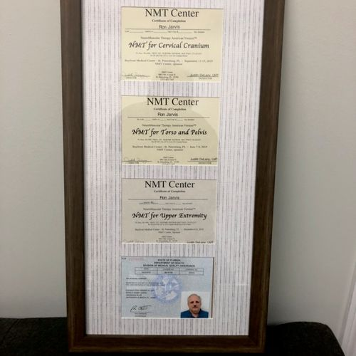 NMT Certificates