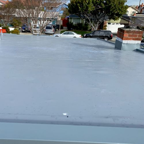 Single ply IB PVC  Roofing Sistem (grey color)