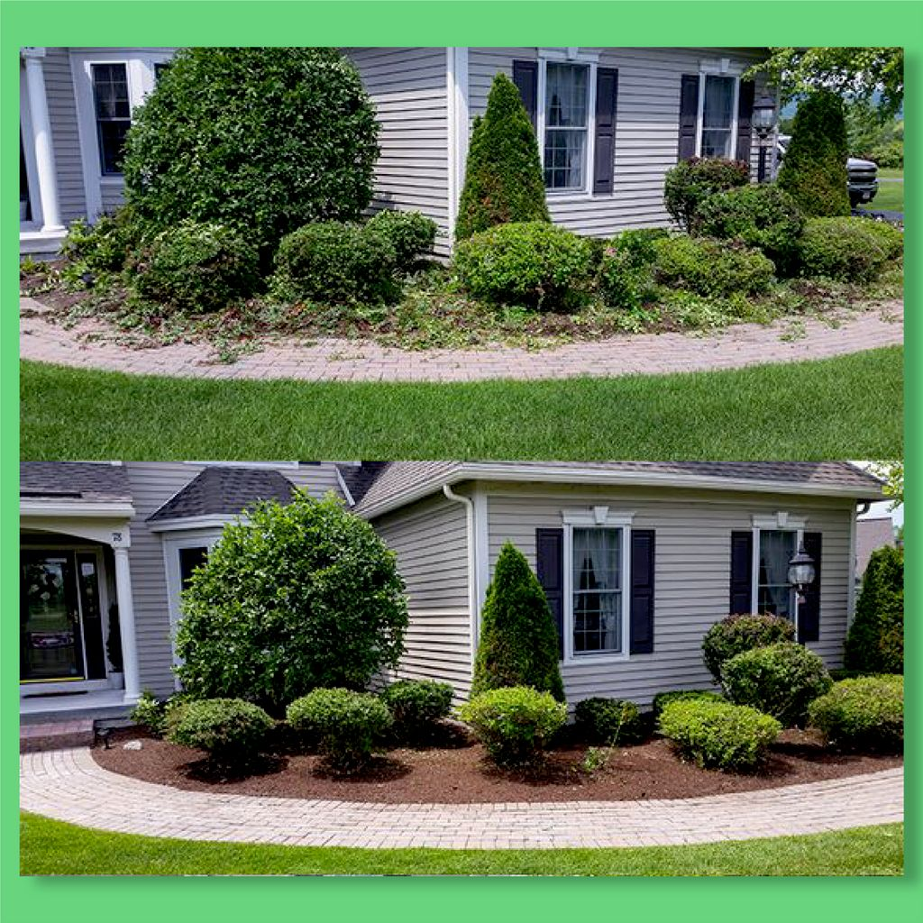 Trimming and mulching