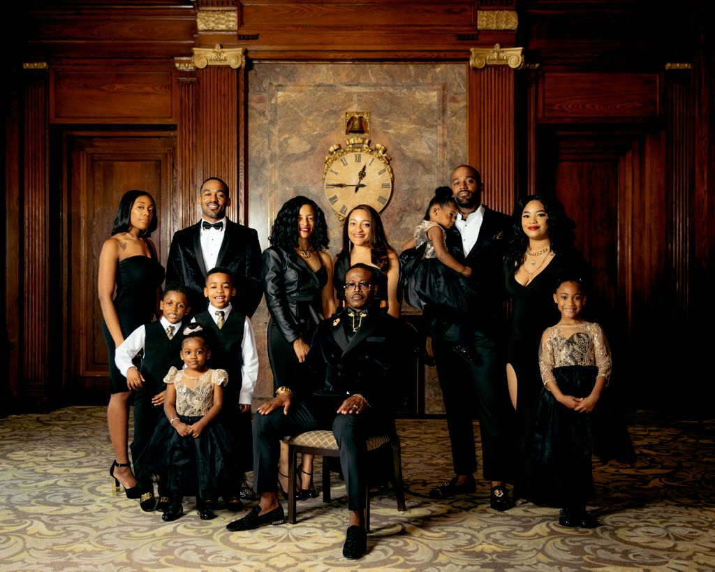 Family Portraits at the Army & Navy Club