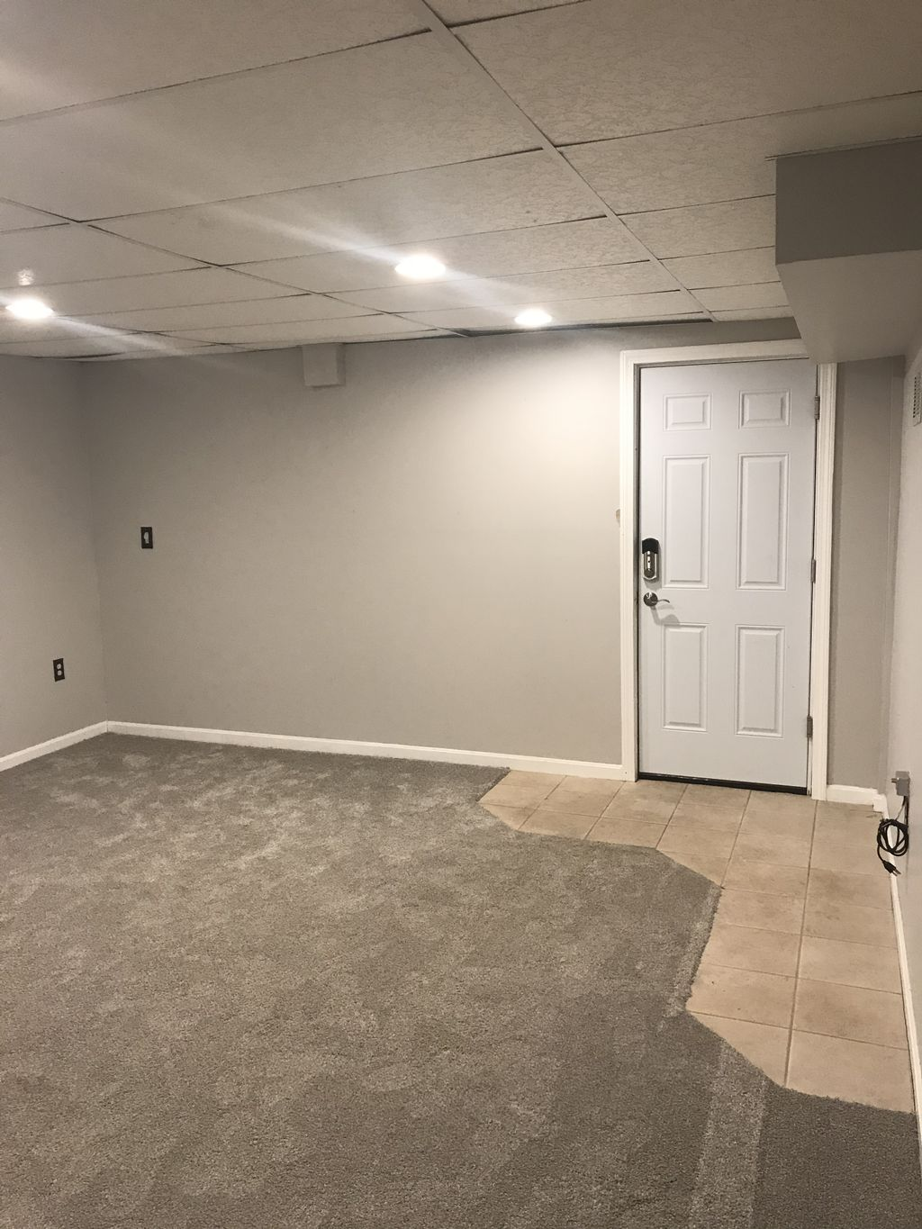 cabinets and 260 square feet of floating floor
