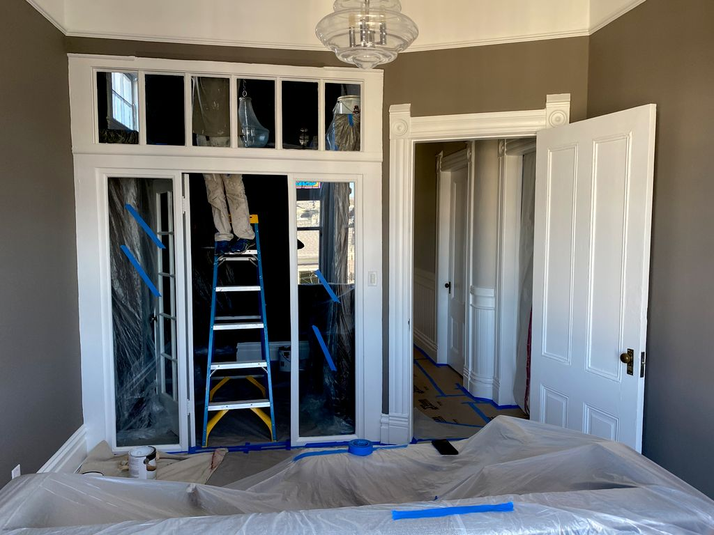 Repainting all house