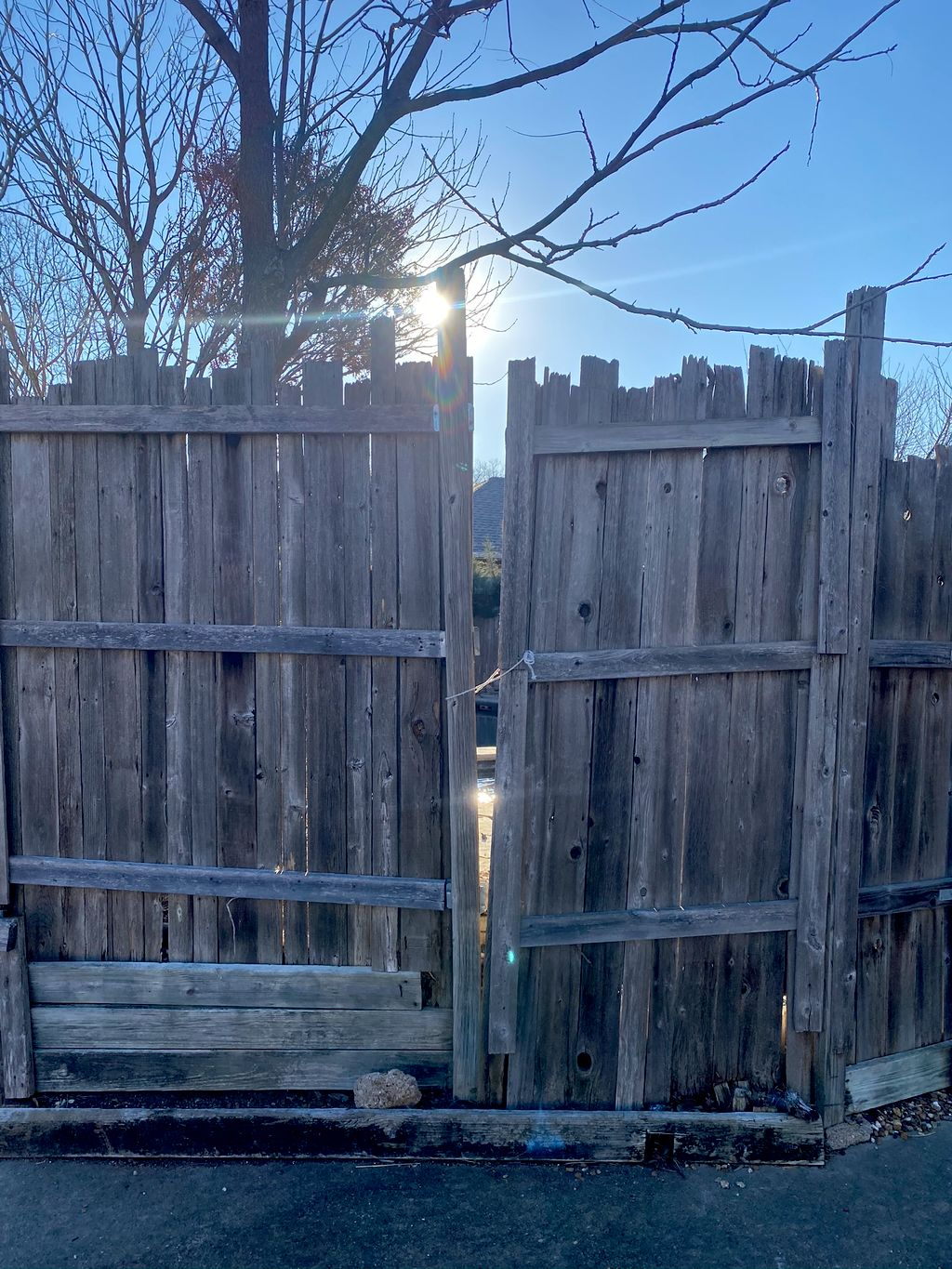 Duff Project 125Ft Fence Pre-Stained 7ft