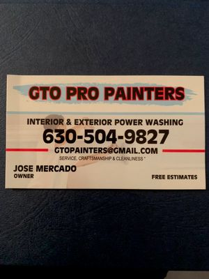 Avatar for GTO PRO PAINTERS West Chicago, IL Thumbtack