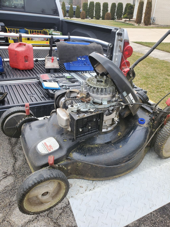 Honda mower repair