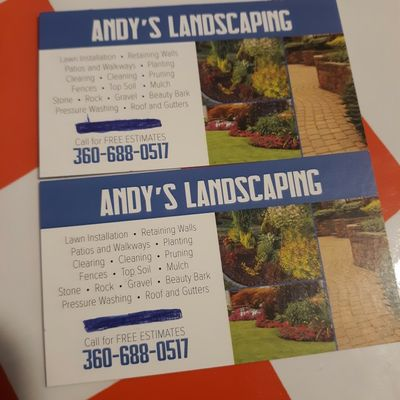 Avatar for ANDYS LANDSCAPING Shelton, WA Thumbtack