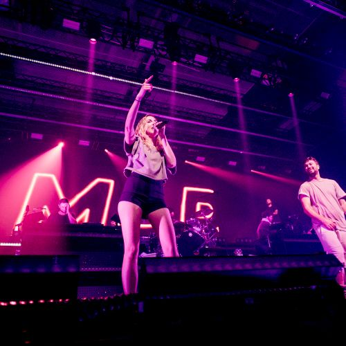 On Tour with rapper Marteria