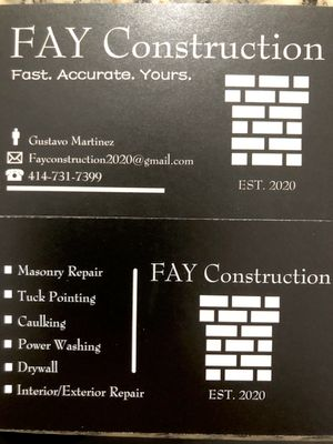 Avatar for Fay Construction Milwaukee, WI Thumbtack