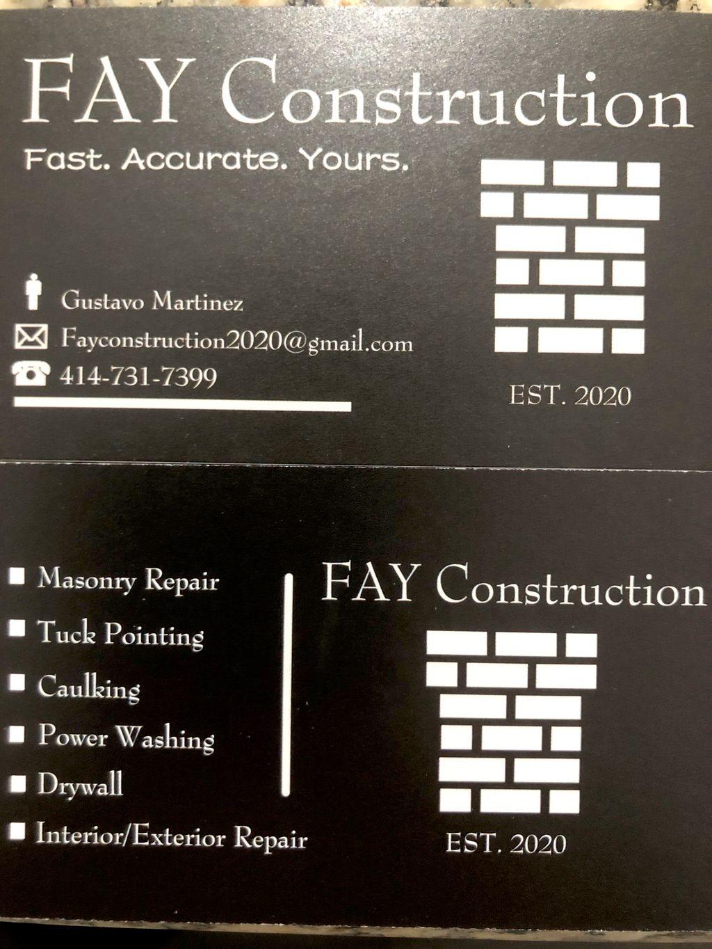 Fay Construction