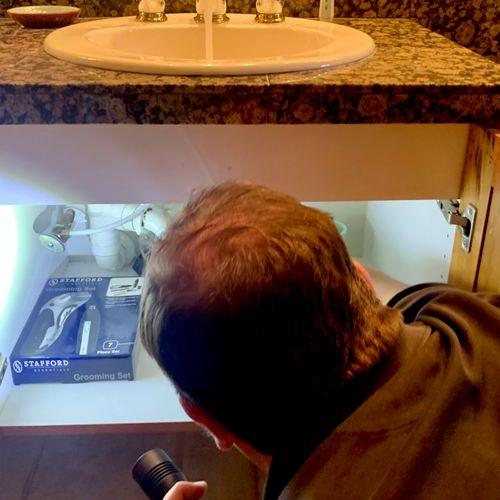 Under sink Check