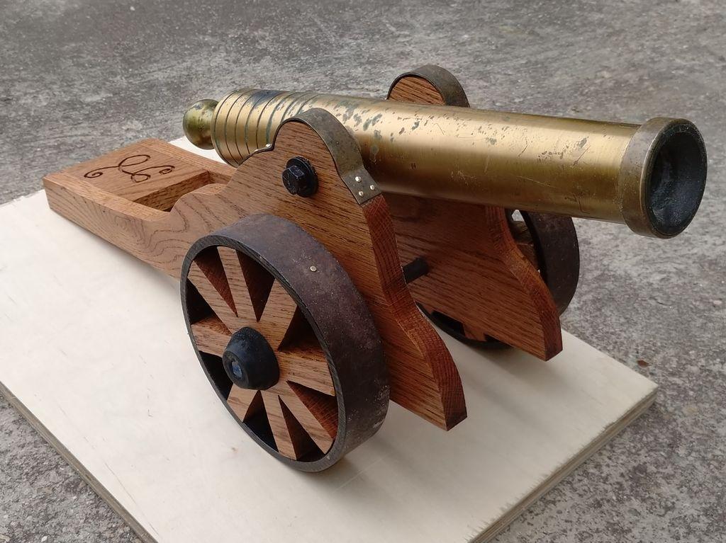 Cannon restoration