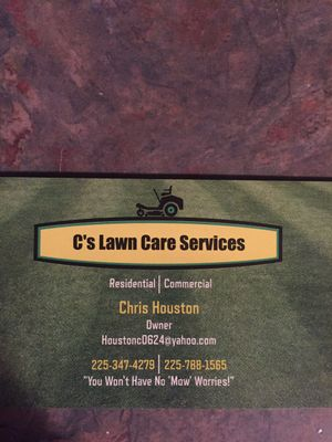 Avatar for C's Lawn Care Services LLC