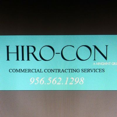 Avatar for HIRO - CON Commercial Contracting Services Mcallen, TX Thumbtack