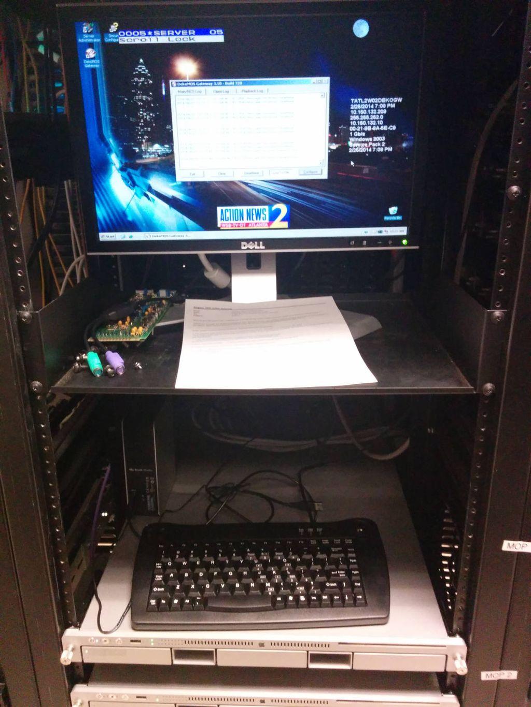 New lotto server installation at WSB TV Atlanta