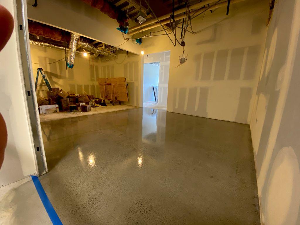 Concrete Grind & Seal System