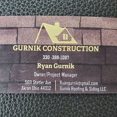 Avatar for Gurnik Construction/ Gurnik Roofing and Siding Uniontown, OH Thumbtack