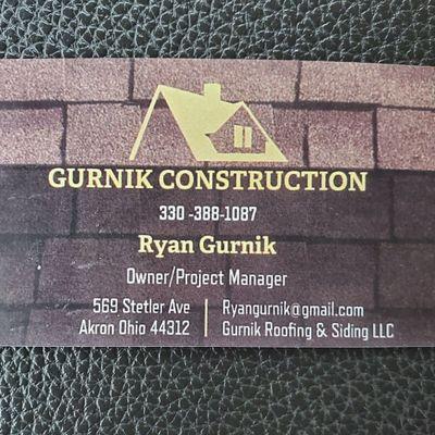 Avatar for Gurnik Construction/ Gurnik Roofing and Siding