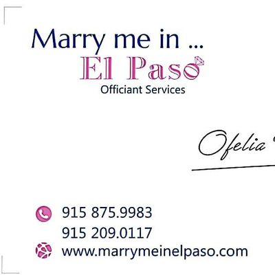 Avatar for Marry Me In El Paso
