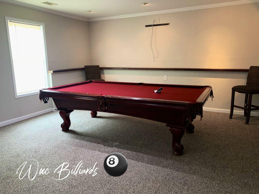 Pool Table Repair Services - Dacula 2020