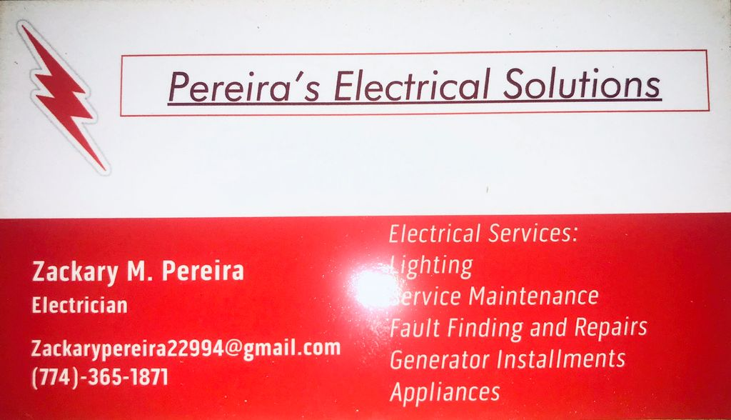 Pereira's Electrical Solutions