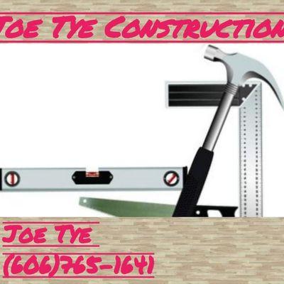 Avatar for Joe Tye Construction LLC Williamsburg, KY Thumbtack