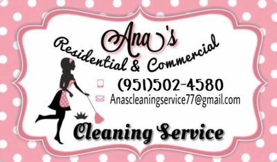 Avatar for Ana's Cleaning Service Riverside, CA Thumbtack