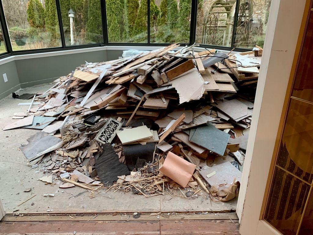 Residential debris removal