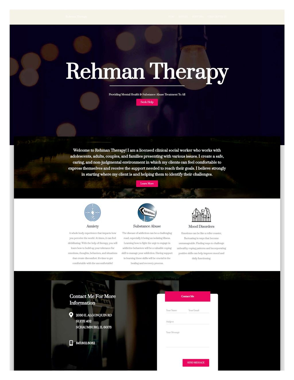 Therapy website