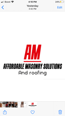 Avatar for Affordable masonry Solutions Brookfield, IL Thumbtack