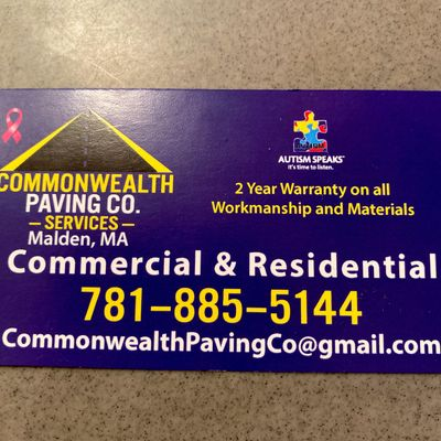 Avatar for Commonwealth Paving Co.