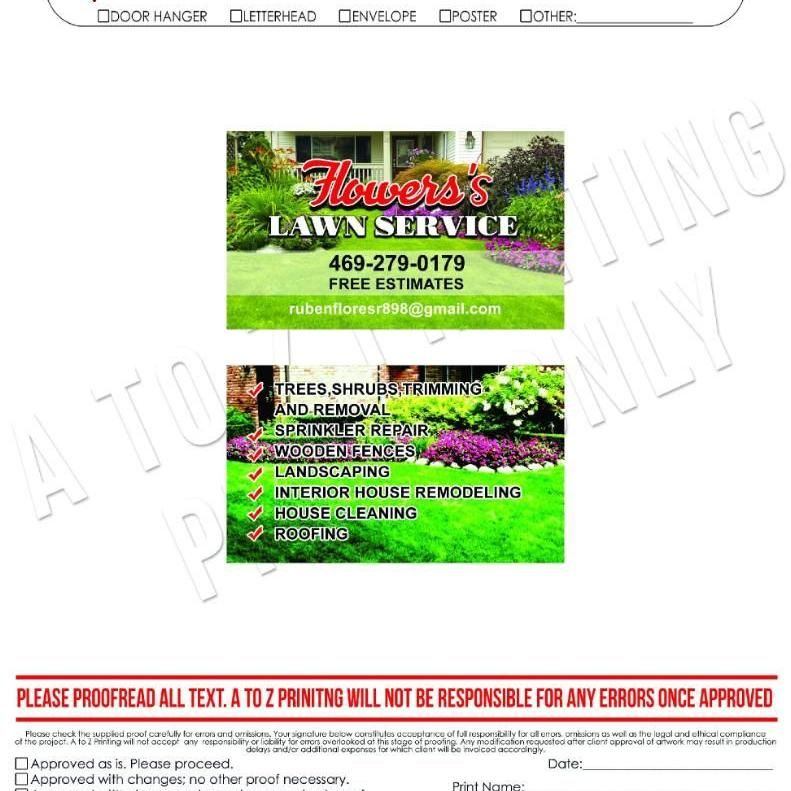 Flowers lawn services,
