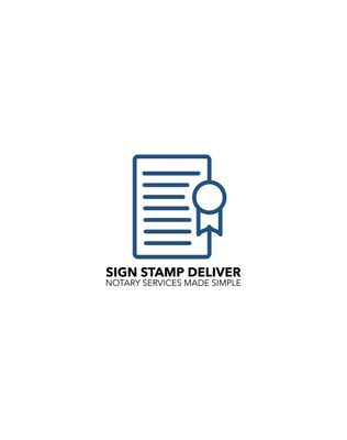 Avatar for SignStampDeliver | Notary Services made simple