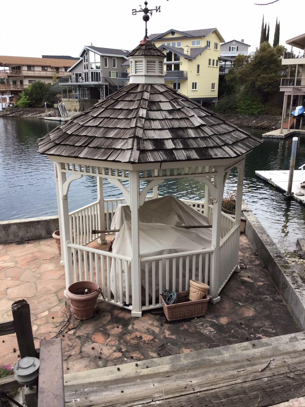 Gazebo Re-Roof