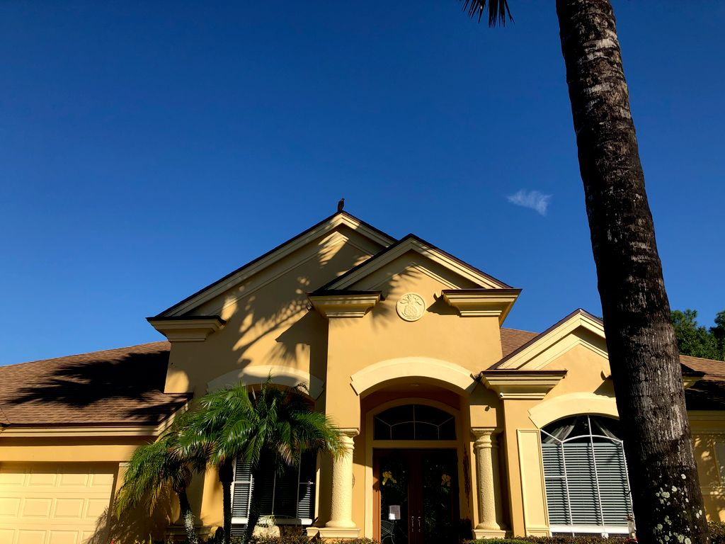 Roofing project in Clearwater