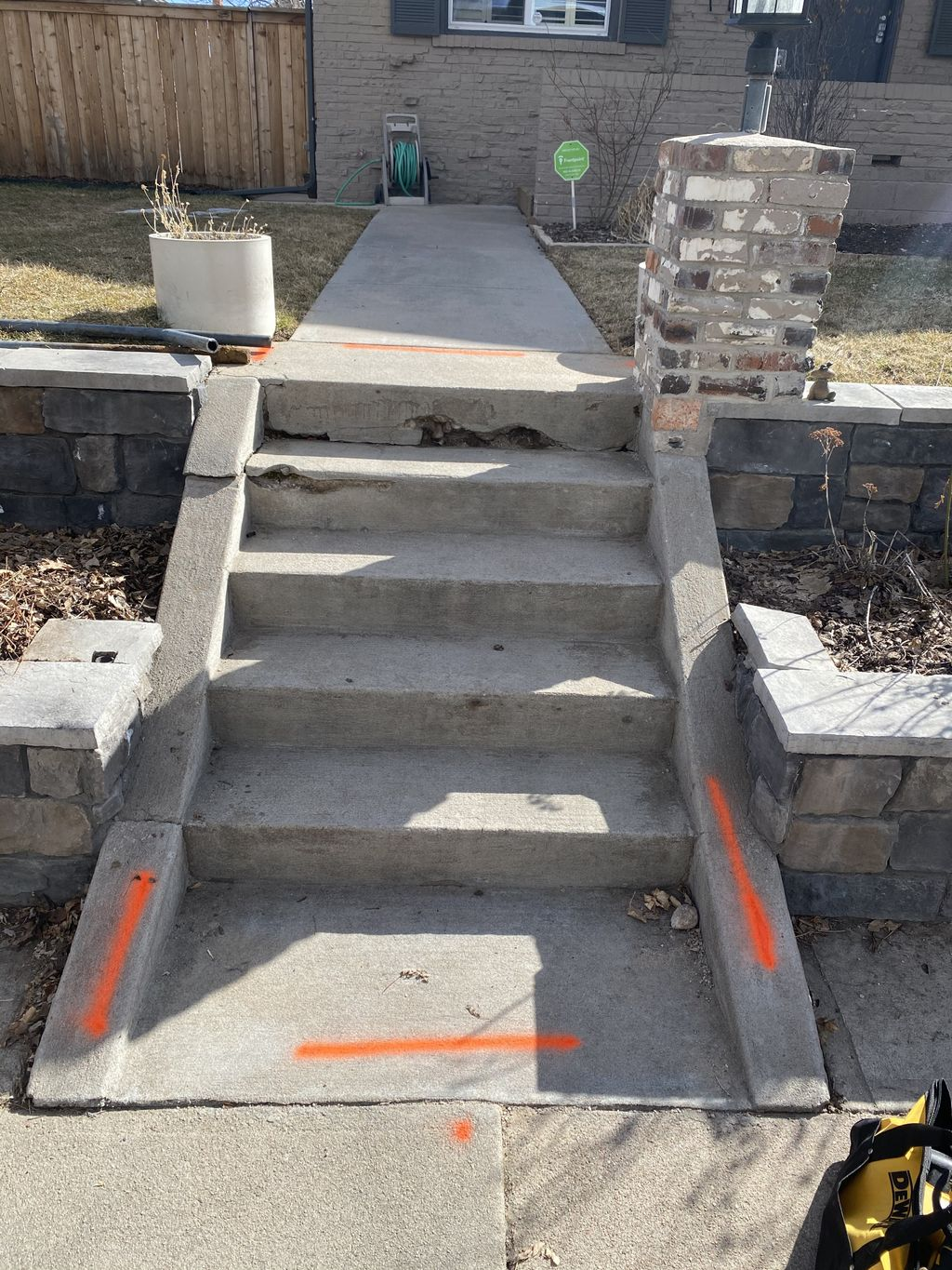 Concrete Stairs Remove & Replace