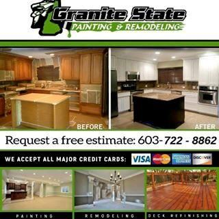 Avatar for Granite State Painting & Remodeling Manchester, NH Thumbtack
