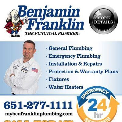 Avatar for Benjamin Franklin Plumbing North Branch, MN Thumbtack