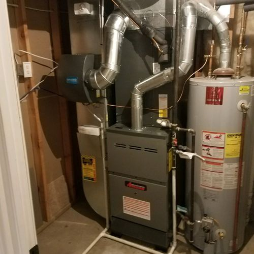 Amana Furnace and Hot Water Heater
