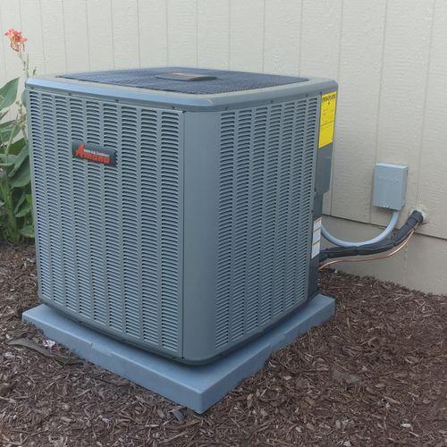 Amana Air Conditioner Installation