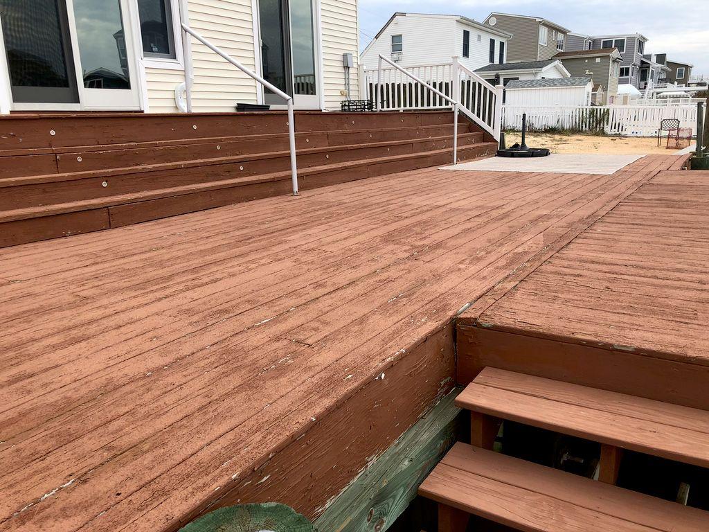 Jay deck renovation