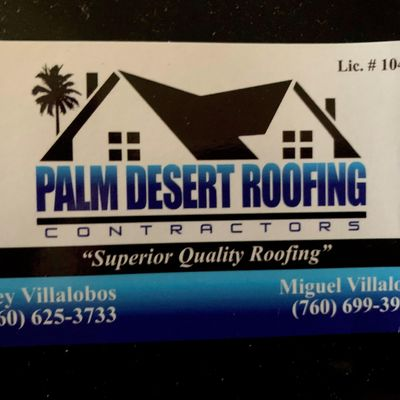 Avatar for Palm Desert Roofing Contractors