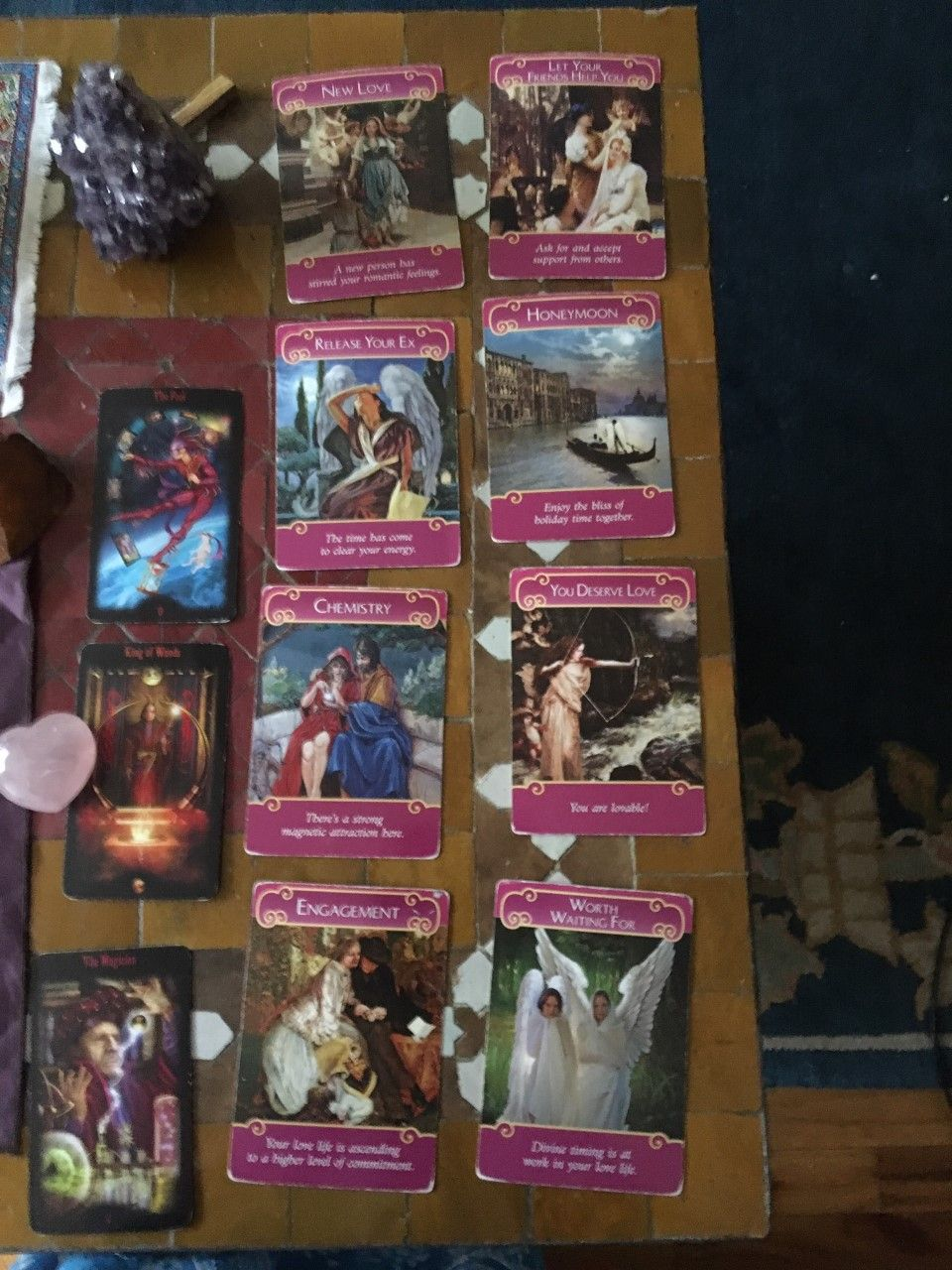 Tarot Card Reading - Roanoke 2019