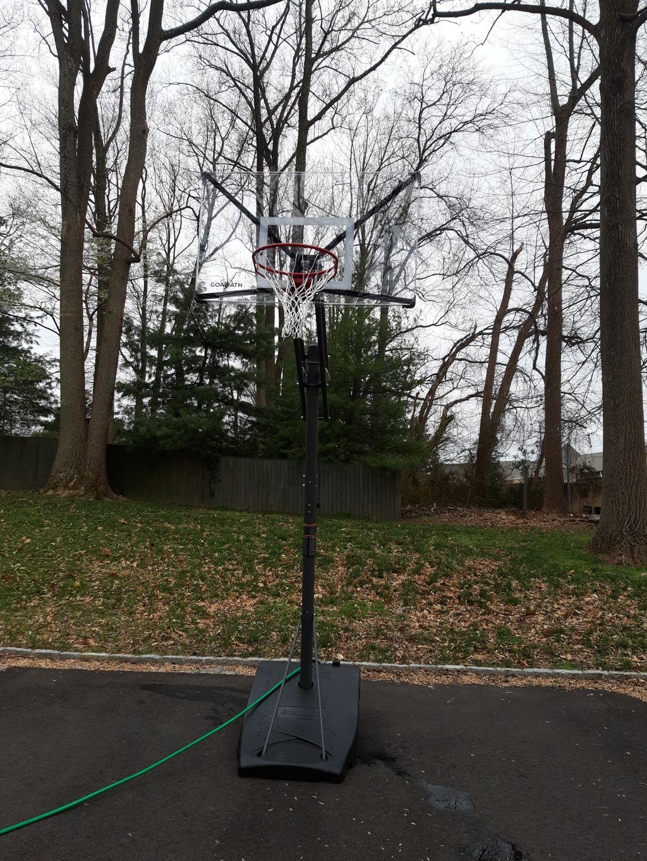 portable portable basketball hoop