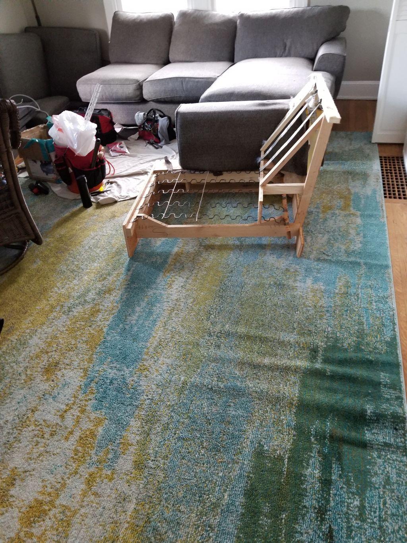 Sofa cutdown, wood, furniture, upholstery